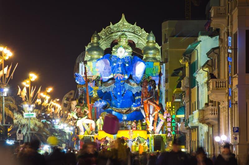 Carnevale di Viareggio 2011, Italia immagini stock
