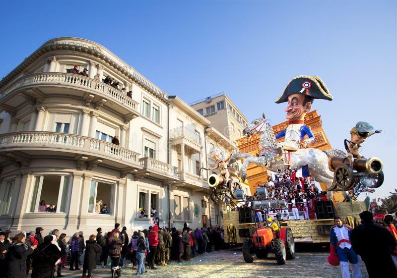 Carnevale di Viareggio immagini stock