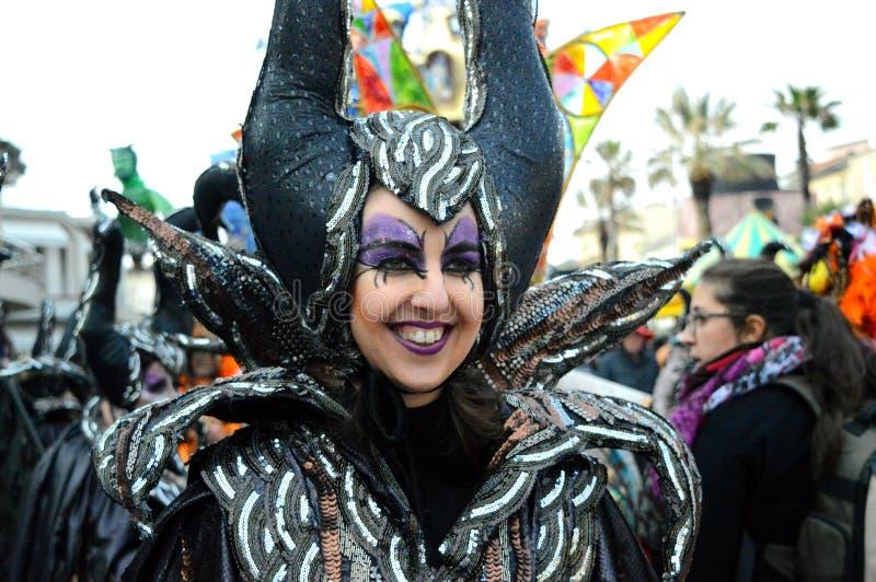 Carnevale Di Viareggio στοκ εικόνα