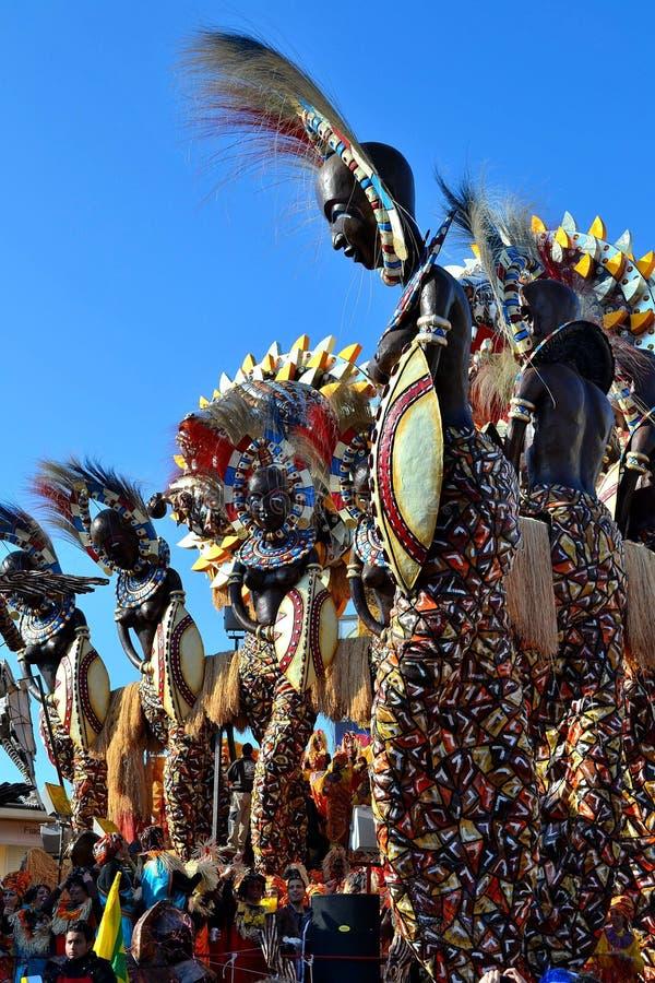 Carnevale di Viareggio, carnevale fotografia stock