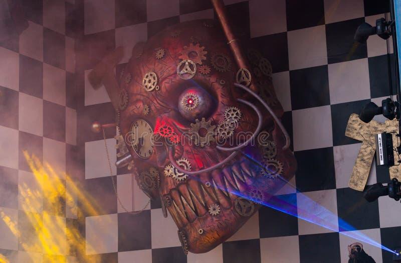 Carnevale di Viareggio, Toscana, Italia immagine stock libera da diritti