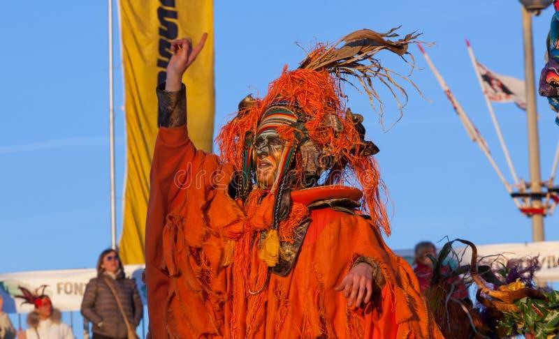 Carnevale di Viareggio, Toscana, Italia fotografia stock