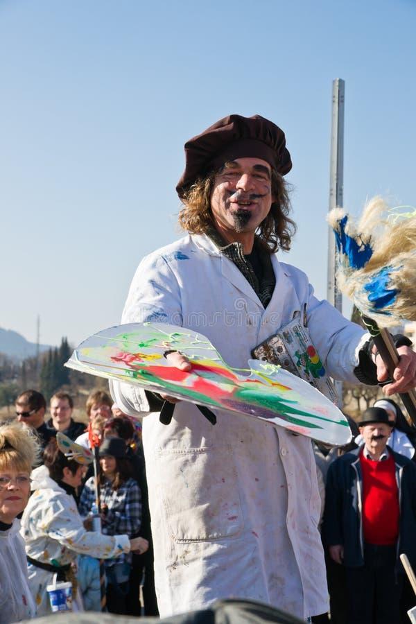 Carnevale di Villach fotografie stock libere da diritti