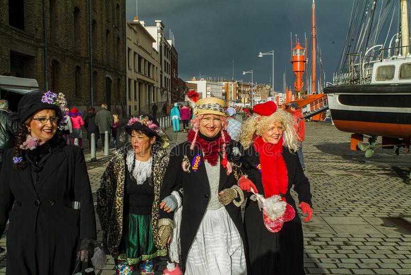 Carnevale a Dunkerque, Francia immagini stock