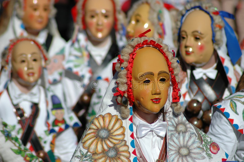 Carnevale in Germania immagine stock libera da diritti