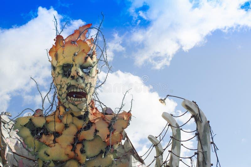 Carnevale particolare di Viareggio immagine stock