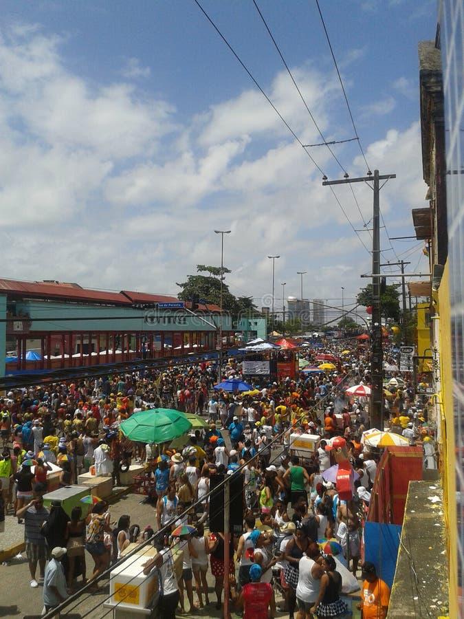 Carnevale Recife fotografia stock