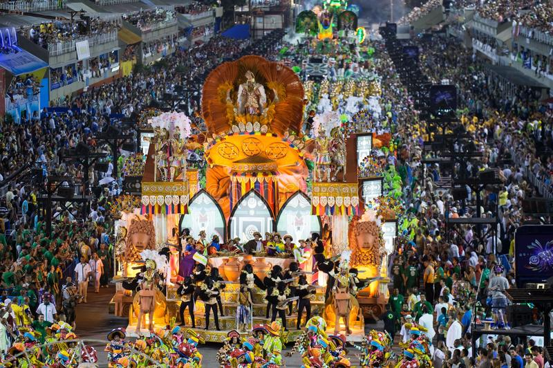 Carnevale 2014 - Rio de Janeiro fotografia stock libera da diritti