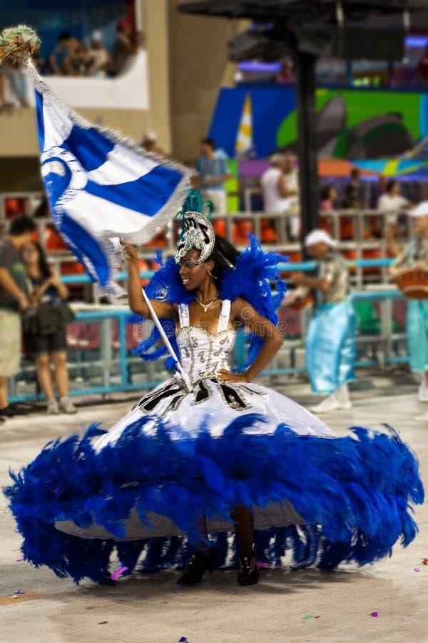 Carnevale in Rio de Janeiro fotografie stock