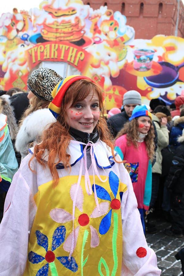 Carnevale russo (Maslenitsa) 2011, Mosca immagine stock