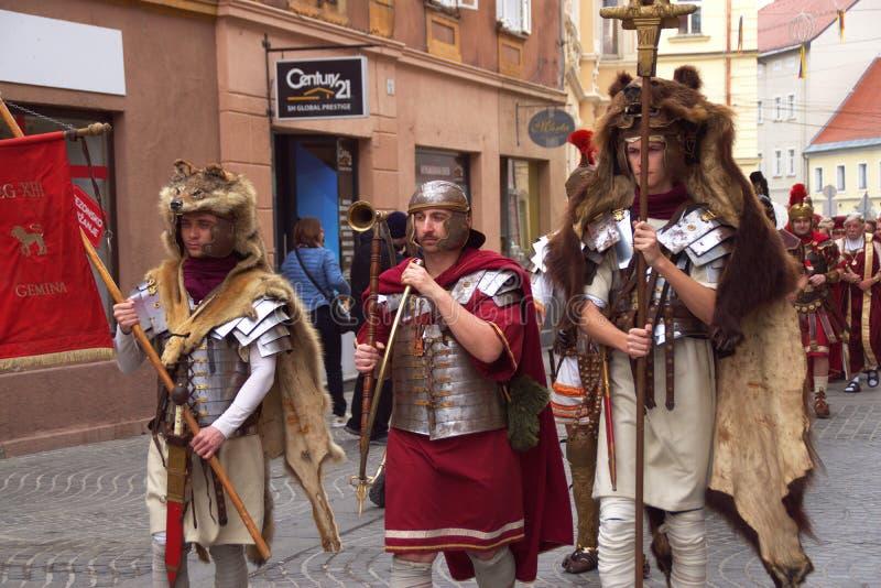 Carnevale 2019, Slovenia di Ptuj fotografia stock libera da diritti
