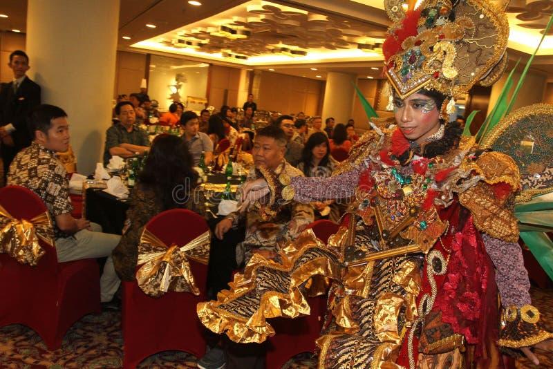 Carnevale solo del batik di aspetto immagini stock libere da diritti