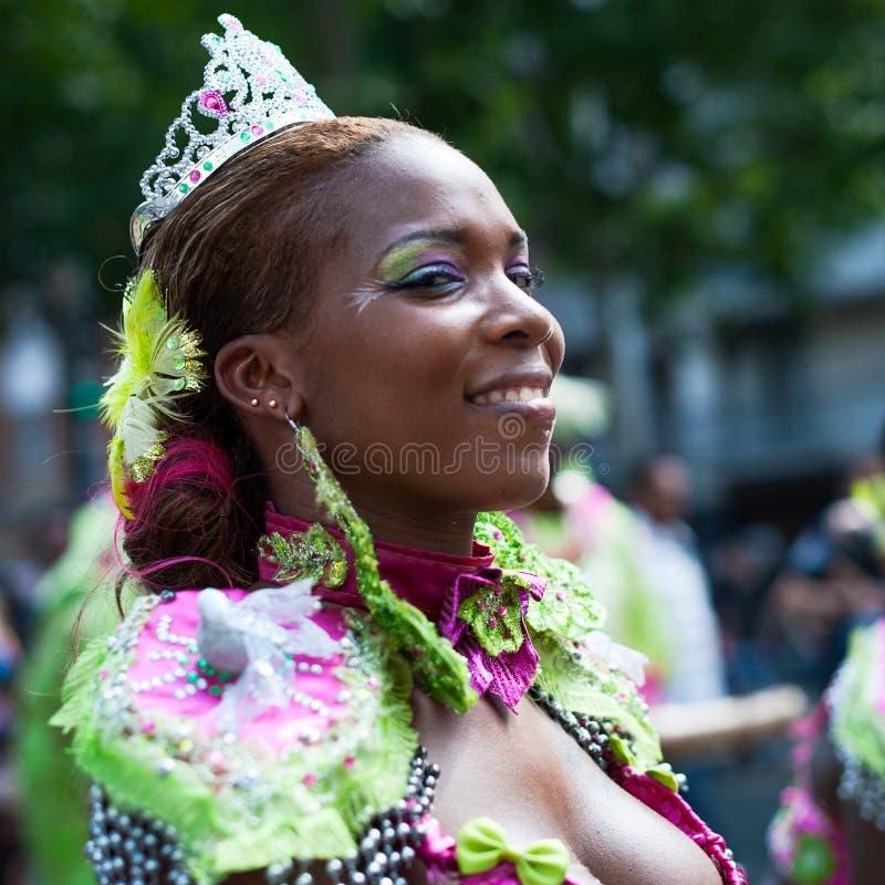 Carnevale tropicale a Parigi fotografie stock