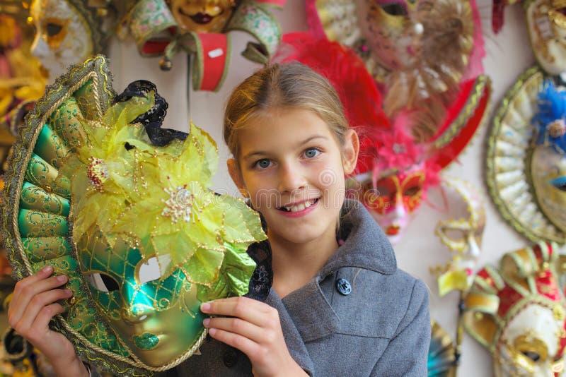 Carnevale a Venezia. L'Italia fotografia stock