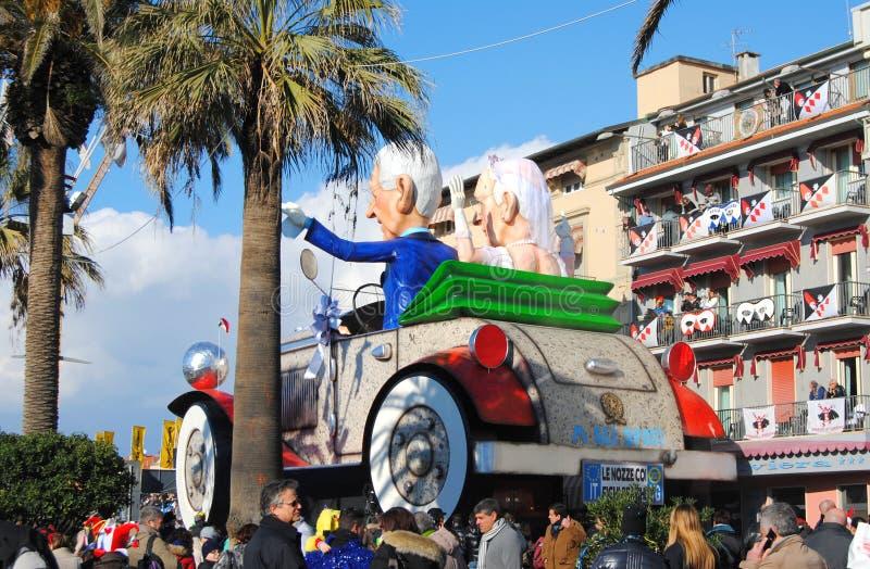 Carnevale Viareggio fotografia stock