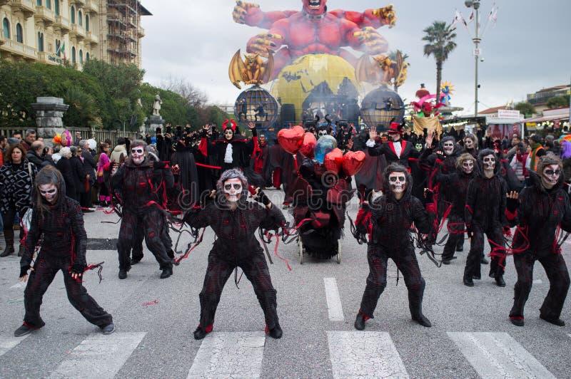 Carnevale, Viareggio, Italia, Europa immagini stock