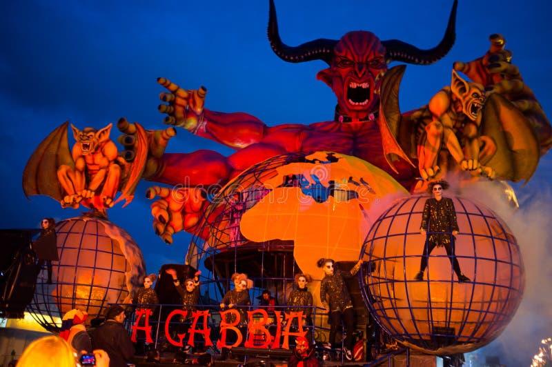 Carnevale, Viareggio, Italia, Europa immagini stock libere da diritti
