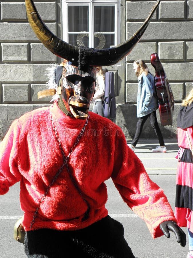 Carnevale a Zagabria, 12 fotografia stock libera da diritti