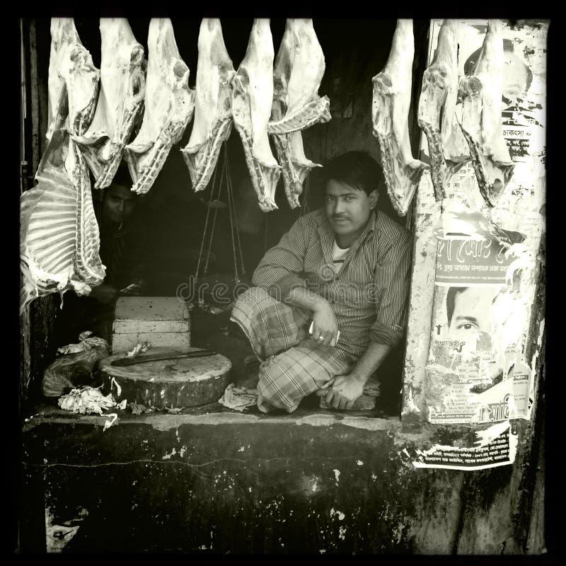 Carnicero Bangladesh fotos de archivo libres de regalías