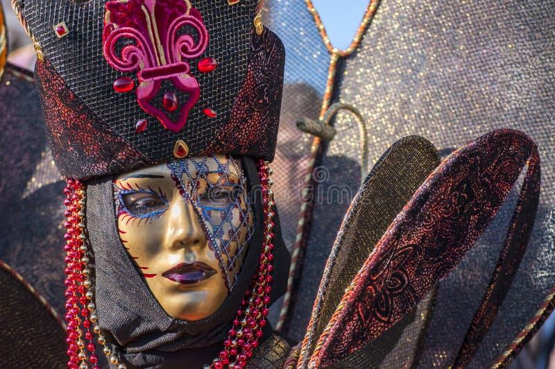 Carnival-2013 Venetian imagem de stock