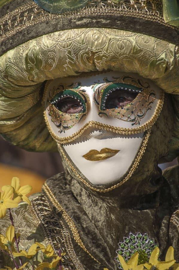 Carnival-2013 Venetian fotografia de stock