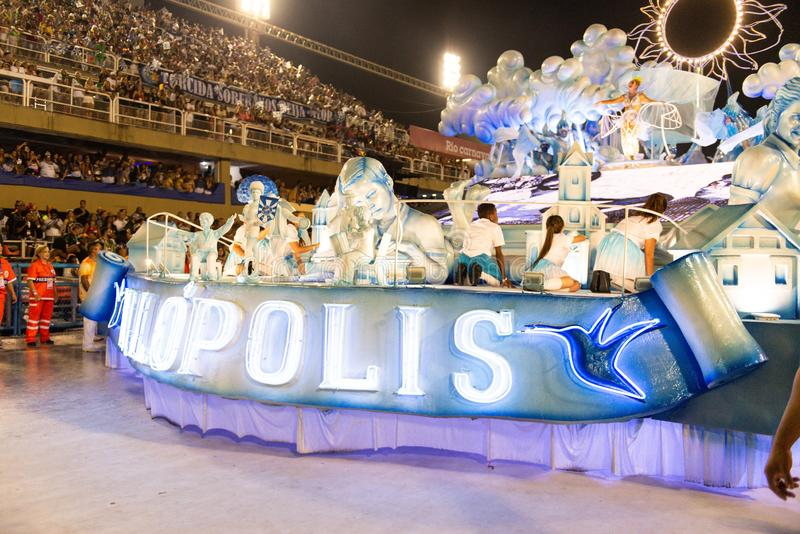 Carnival 2019 - Beija Flor stock images