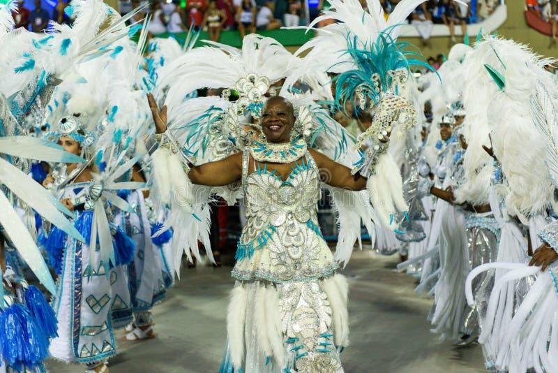 Carnival 2019 - Beija Flor stock photography