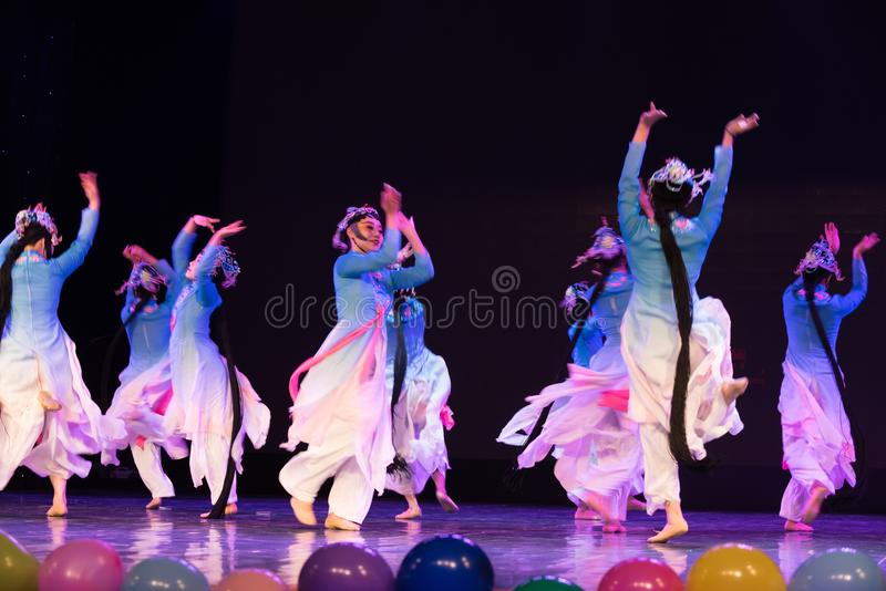 Carnival-Beijing Opera Dance royalty free stock photography