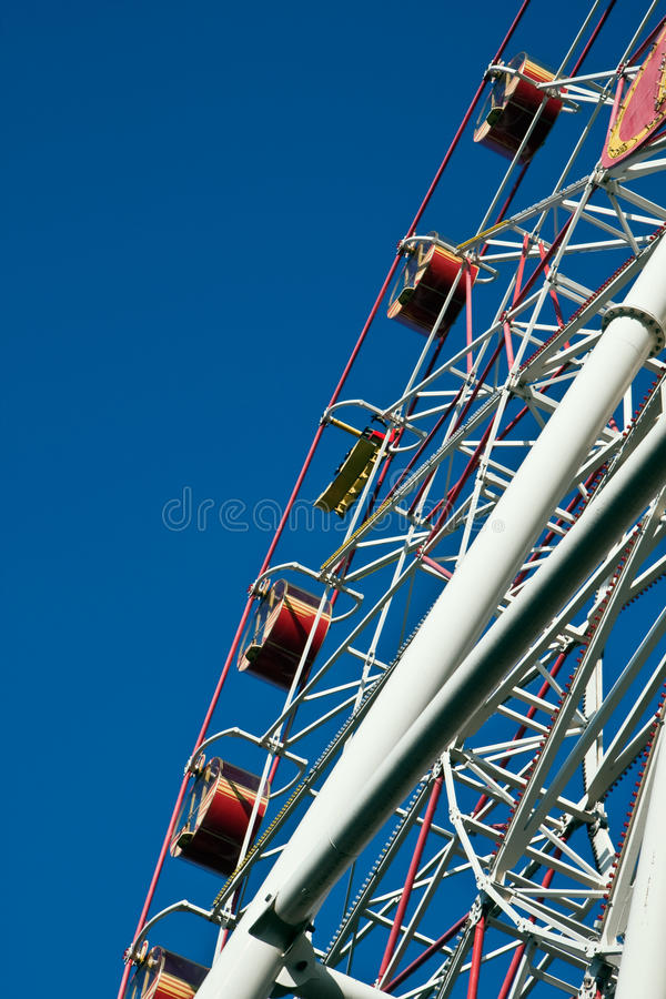 Download Carnival Big Ferris Wheel stock image. Image of child - 10715733