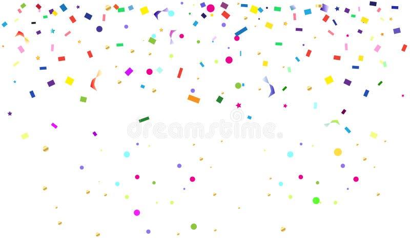 carnival confetti stock vector illustration of elements 86763468 rh dreamstime com vector confetti illustrator vector confetti free download