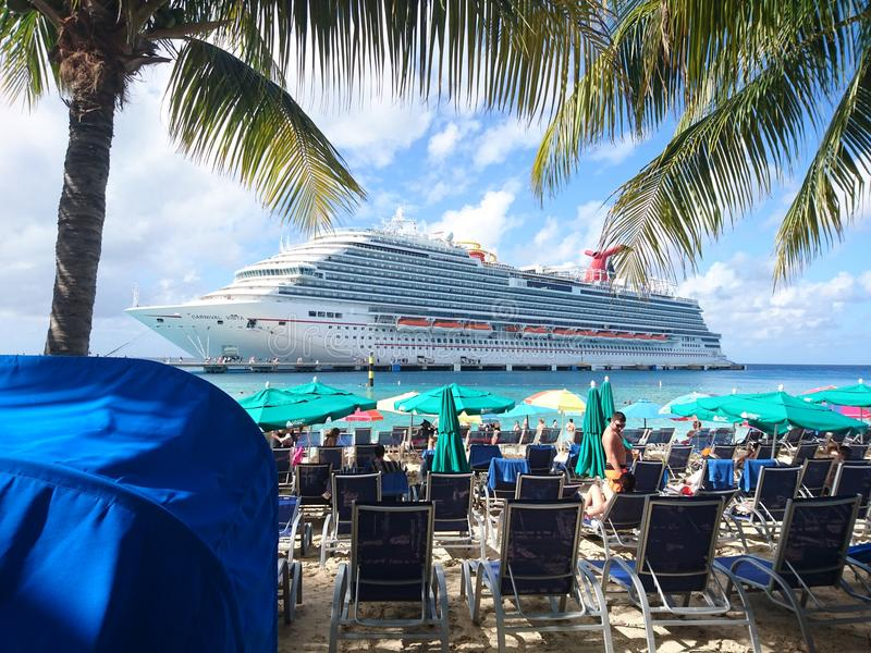 Carnival Cruise royalty free stock photography