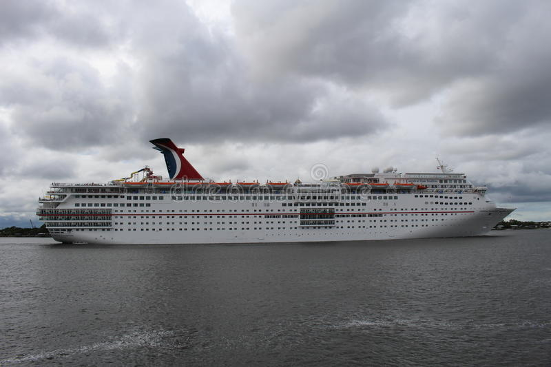 Carnival Cruse Ship royalty free stock images