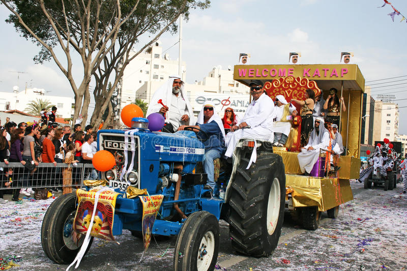 Carnival in Cyprus royalty free stock photography