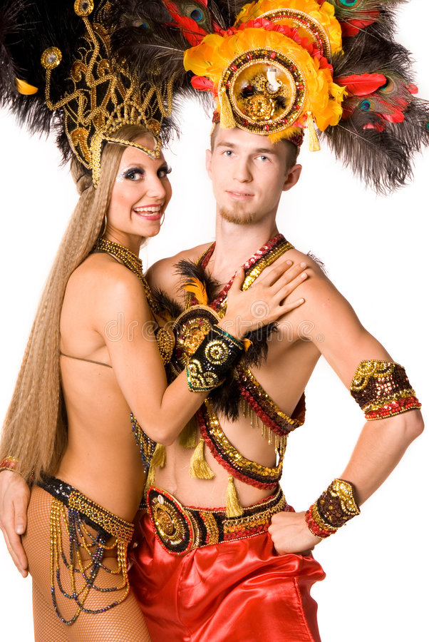 Free Carnival Dancer Royalty Free Stock Photography - 9064717