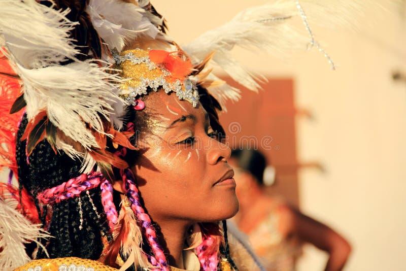 Carnival dancer royalty free stock photos