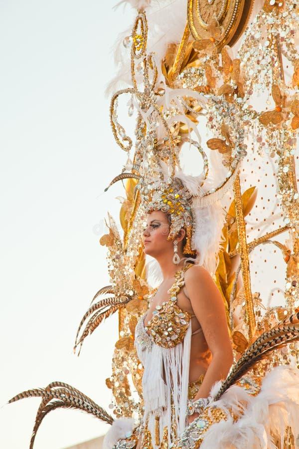 carnival del puerto罗萨里奥西班牙 库存照片