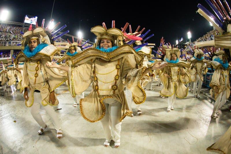 Carnival 2019 - Estacio de Sa stock photos