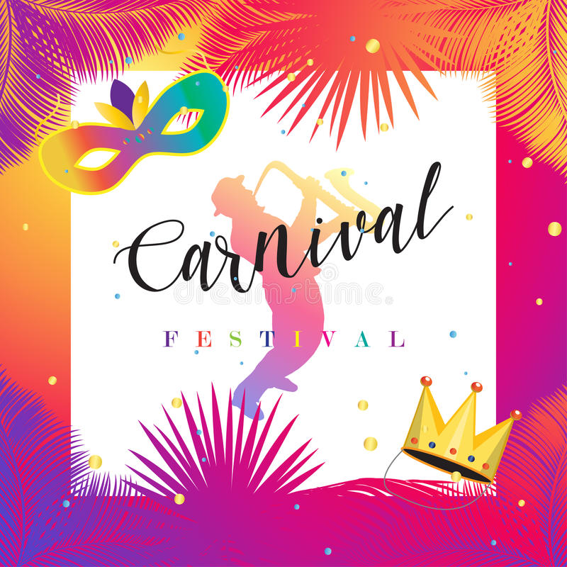 Download Carnival stock vector. Illustration of border, bright - 86352426