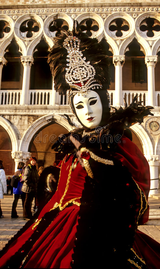 Carnival figure- Italy royalty free stock image