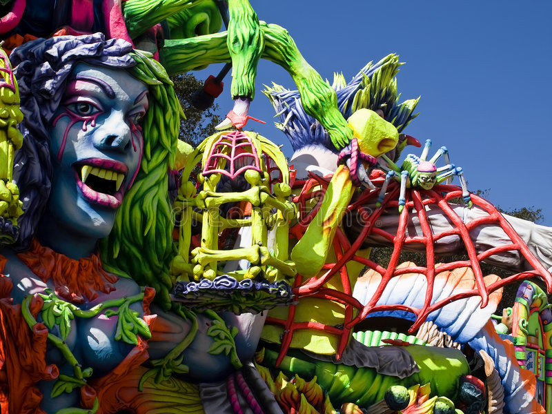 Carnival Float royalty free stock photos