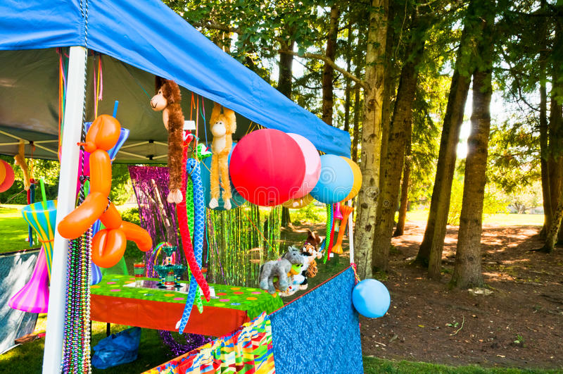 Carnival Games and Prizes stock image
