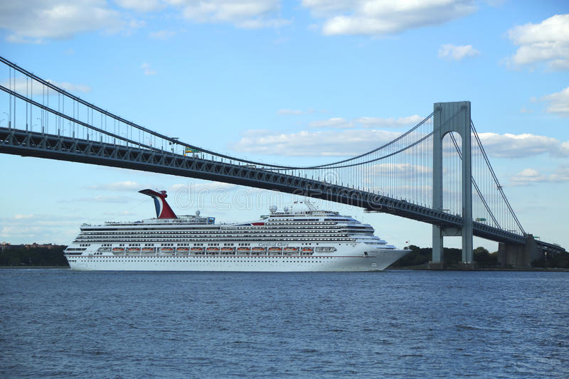 Carnival Glory Cruise Ship Leaving New York Editorial Stock Image - What cruise ships leave from nyc
