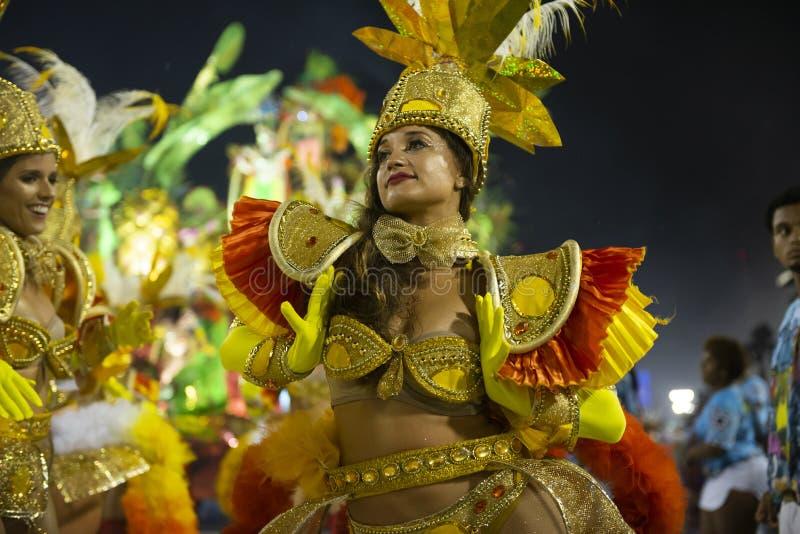 Carnival 2019 Inocentes de Belford Roxo royalty free stock photos