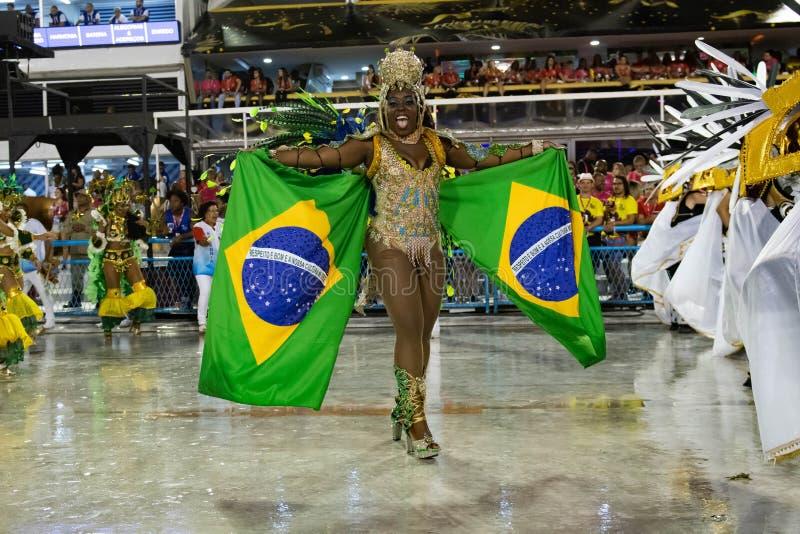 Carnival 2020 - Inocentes de Belford Roxo stock foto