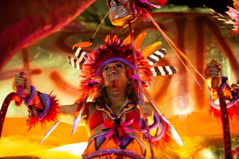 Carnival 2019 - Mangueira royalty free stock photo
