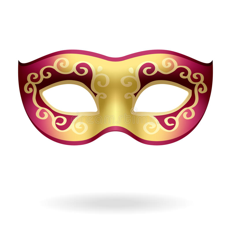 Download Carnival mask stock vector. Image of disguise, festival - 14267278