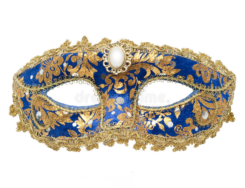 Download Carnival Mask stock photo. Image of crafted, detail, sapphire - 16787376