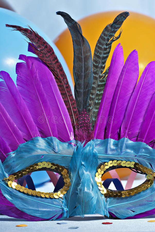 Download Carnival mask stock photo. Image of masquerade, colored - 18407590