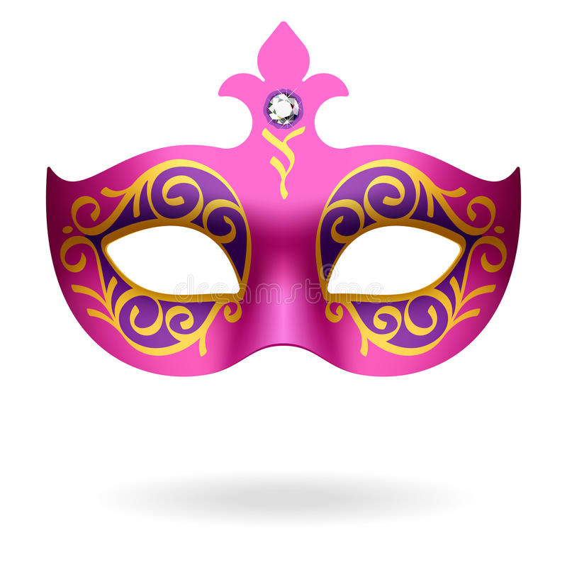 Carnival Mask. Vector illustration of a carnival mask