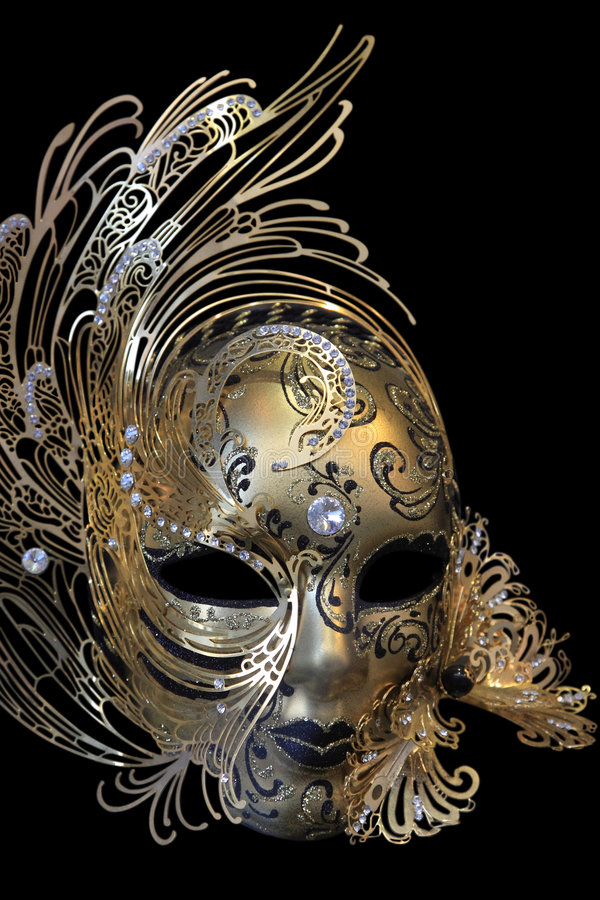 Carnival mask. Beautiful carnival mask from Venice Italy stock images